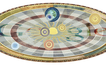 Nicolaus Copernicus Animated Google Doodle Models Heliocentric Solar