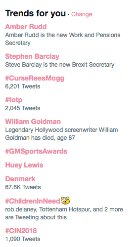 trending for you box twitter