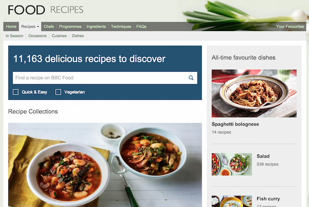 bbc recipes
