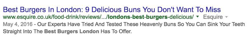 best burgers in london