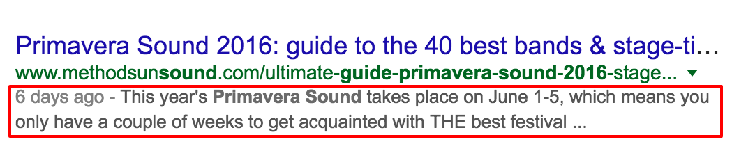 guide to primavera sound 2016 Google Search