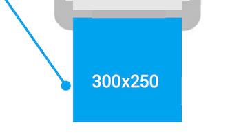 300 x 250 ad unit