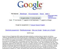 Google Belgium With Legal Ruling