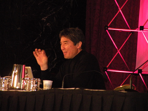 Guy Kawasaki gives keynote at SES New York 2009.jpg