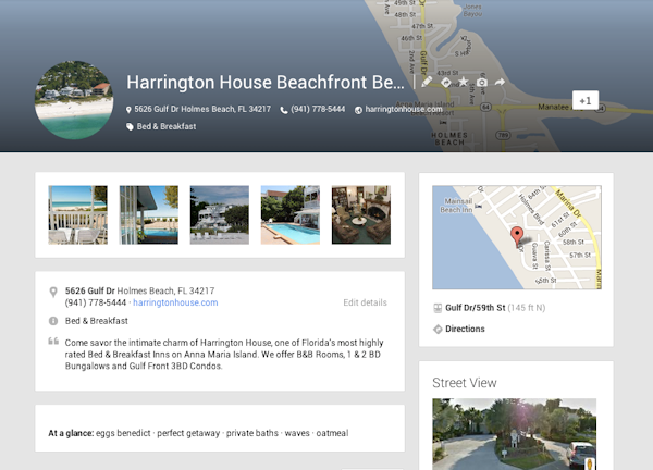 harrington-house-google-plus-page