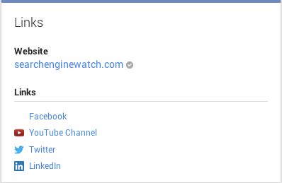 Search Engine Watch Google Plus Social Profile Links