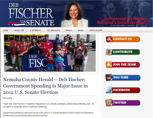 Deb Fischer website