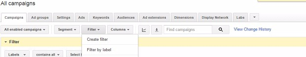 adwords-filter-dpease