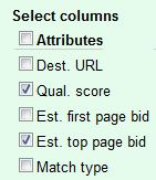 Google AdWords Enabling Top Page Bid
