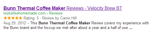 schema-review-in-search-results-coffee-maker