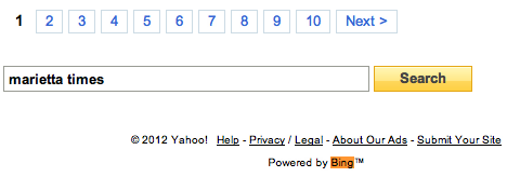 yahoo-powered-by-bing