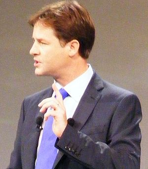 Nick Clegg makes the Liberal Democrats' Leader...